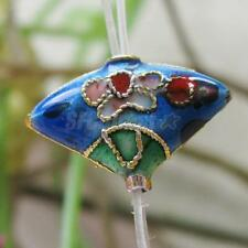 1 Pcs Charm Cloisonne Sector Spacer Bead for Jewelry Bracelet DIY Make