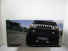 1/18 SCALE HIGHWAY 61 YELLOW HUMMER H2