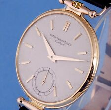 PATEK PHILIPPE CALATRAVA WATCH 18K SOLID GOLD CHRONOMETER 1940 THIN MOVEMENT