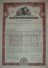 1955 New York Central Railroad Bond Stock Certificate