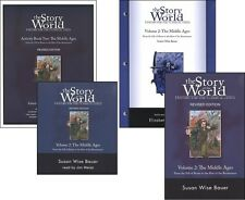 Susan Wise Bauer - Story of the World 2: Middle Ages SET of 4 - NEW