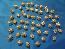 50 pcs Soviet russian 13mm small star officer shoulder boards ARMY USSR UNIFORM