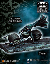 KNIGHT MODELS BATMAN MINIATURE GAME - BATMAN ON BATPOD, THE DARK KNIGH K35BDK007
