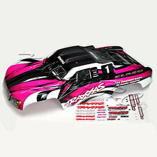 NEW Traxxas Slash PINK Edition Body Painted VXL 2WD 4x4 Nitro Courtney Force