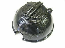 VW SCIROCCO HEADERTANK/EXPANSION TANK COVER INC NEW CAP IN CARBON FIBRE EFFECT