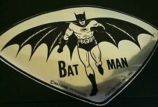VTG 60'S BATMAN STICKER MADE IN MEXICO NATIONAL PERIODICAL INC. 1966
