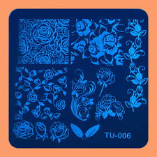 NEW Stamping Manicure Image Nail Art Image Stamp Template Tool Plate Polish T-06