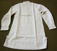 J13C WWI IMPERIAL GERMAN ARMY COMBAT FIELD SERVICE WHITE SHIRT-SMALL