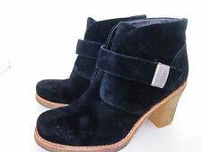 "Women's UGG Australia Size 8 Black Ankle Boots ""Brienne"" 3212 Suede Boots Bootie"