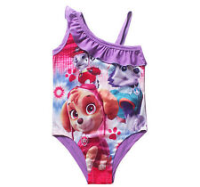 Cute Girls Swimming Costume Swimsuit One-piece Swimwear Paw Patrol for 6-7Y A1
