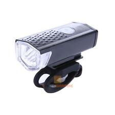 CREE 300LM Flashlight LED Bicycle Lamp USB Rechargeable Bike Head Front Light