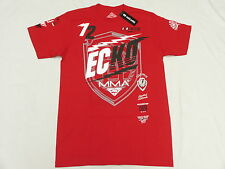 NWT NEW Mens Ecko Unltd T-Shirt MMA 72 Graphic Print Tee Red Urban Size M N122