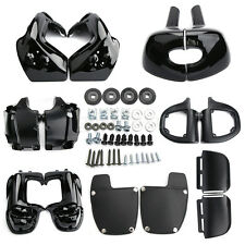 Adjustable Lower Vented Leg Fairings For Harley Touring Road King Electra Glide