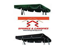 Replacement canopy for Garden Swing, different sizes, styles & colours