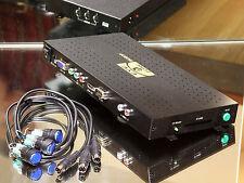 POI POS Messe Ausstellung  CF Card Videoplayer mit 3  16mm-Einbauschaltern