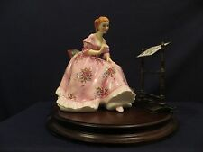 Royal Doulton The Gentle Arts Tapestry Weaving Figurine