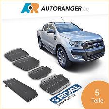 Unterfahrschutz Set aus 5 Teilen — Aluminium 6mm — Ford Ranger / Mazda BT-50