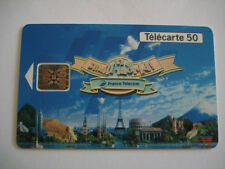 PHONECARD TELECARTE PARC EURO DISNEYLAND IT'S A SMALL WORLD