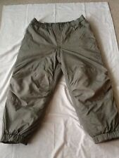 USGI Military Army Gen III L7 Primaloft TROUSER ECWCS  SMALL  SHORT