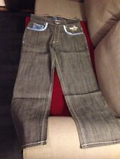 New With Tags Mens 38/34 Dark Denim Blue Jeans Urban Overstock Sale