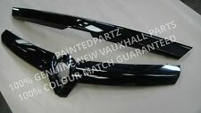 NEW MK5 ASTRA H VXR SRI XP ARCTIC RACING REAR TAILGATE HANDLE AND  GRILL BLACK