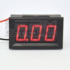 Amperometro ROSSO da pannello 0-10A misuratore corrente tester - ART. HE02