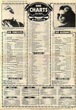 NME CHARTS29/11/80 BLONDIES THE TIDE IS HIGH WAS NUMBER 0NE