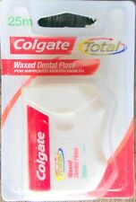 Colgate Total Waxed Dental Floss 25 M Original Brand New Free Worldwide Shipping