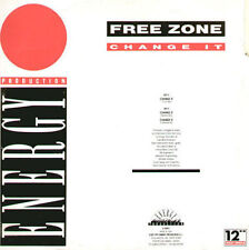 FREE ZONE - Change It - 1991 X-Energy Italy - X-12093