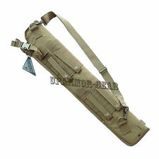 Shoulder Carrying MOLLE Shotgun Scabbard Remington 870 TAN (CONDOR #148)