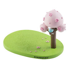 NEW 2017 STARBUCKS TAIWAN COFFEE SAKURA TREE CUP COASTER HOLDER FREE SHIPPING