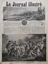LE JOURNAL ILLUSTRE 1864 N 19  PLAISIR CHAMPÊTRE : LA RONDE D' AMOUR