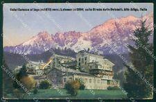 Bolzano Nova Levante Carezza al Lago cartolina VK0448