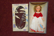 1950's Ideal Shirley Temple Cinderella Doll Mint in Box with Wrist Tag
