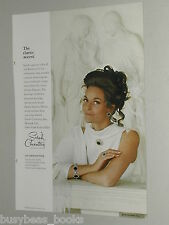 1970 Sarah Coventry jewelry advertisement page, Lee Meriwether, Jet Set