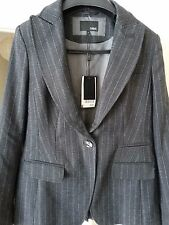 Next women blazer,rich wool mark blend,LINED,grey,size 14,new with tags,RRP £75
