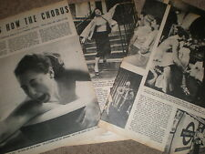Photo article life on a London west end chorus Line 1952 ref R