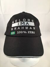 NELMORE IMA BRAHAM 100% ZEBU BRAZIL  Collectable Baseball Cap/Hat like new (H14)