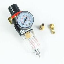 AFR2000 Air Filter Regulator Compressor Oil water separation 8mm Brass fittings