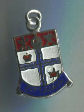 Vintage sterling enamel SHIELD charm COAT OF ARMS FOR OTTAWA CANADA