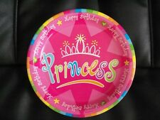 8 Happy Birthday Princess Dessert Paper Party Plates  Cake  *****Special