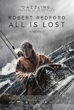 ALL IS LOST - Movie Poster - Flyer - 13 X 19 - ROBERT REDFORD