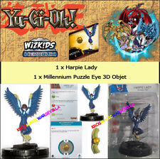 YUGIOH HEROCLIX BATTLE OF THE MILLENNIUM OP KIT TWO - Harpie Lady + Eye 3D