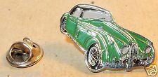 PIN'S METAL JAGUAR XK 150 CABRIOLET 1957 VERTE TOIT NOIR