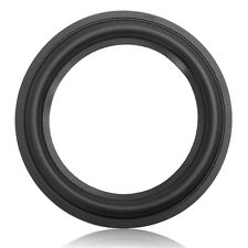 Black 6.5 Inch Speaker Surround  Circle Repair Foam For Bass Woofer Horn