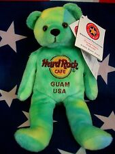 HRC Hard Rock Cafe Guam Green Tye Dye Bean Beara LE Herrington 2009