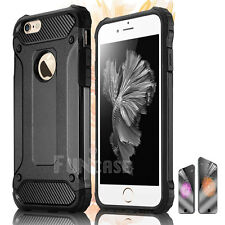 Shockproof Hybrid Silicone Durable Skin Case Cover for Apple iPhone 7 Plus 6s 5s