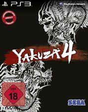 PS3 / Sony Playstation 3 game - Yakuza 4 (EN/DE) (boxed / Steelbook)