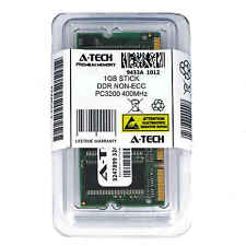 Atech 1GB SODIMM DDR Laptop PC3200 3200 400 400mhz 184pin Notebook Memory Ram