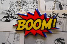 Boom Collar-Rockabilly Vintage Años 50 Pin Up Comic Book Anime Super Hero